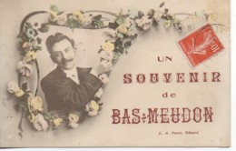 92 Un Souvenir Du BAS-MEUDON - Meudon