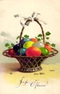 Ostern, Korb Mit Eiern, Ca. 20er/30er Jahre - Easter