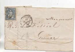 SUISSE  Lettre De 1868 (2) - Lettres & Documents