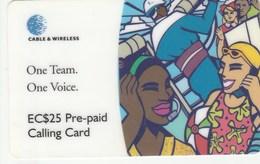 St. Vincent & The Grenadines - People On Phone - ST25 - San Vicente Y Las Granadinas