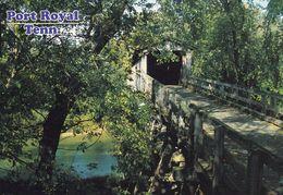 1 AK USA Tennessee * Eine überdachte Brücke Im Port Royal State Park Bei Der Stadt Clarksville * - Clarksville