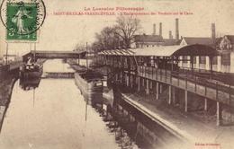 Saint Nicolas - L'embarquement Des Produits Sur Le Canal - Saint Nicolas De Port