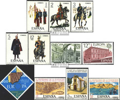 Spanien 2343-2347,2366-2367, 2368,2369-2371 (kompl.Ausg.) Postfrisch 1978 Uniformen, Europa, Las Palmas U.a. - 1931-Heute: 2. Rep. - ... Juan Carlos I