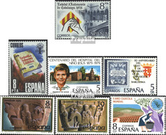 Spanien 2438,2439,2440,2441, 2442-2443,2449 (kompl.Ausg.) Postfrisch 1979 Katalonien, Baskenland, U.a. - 1931-Heute: 2. Rep. - ... Juan Carlos I