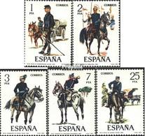 Espagne 2316-2320 (complète.Edition.) Neuf Avec Gomme Originale 1977 Des Uniformes Militaires - 1931-Oggi: 2. Rep. - ... Juan Carlos I