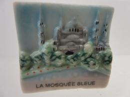 FEVE - MERVEILLES DU MONDE  LA MOSQUEE BLEUE - Histoire