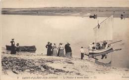 80-SAINT-VALERY-SUR-SOMME- LE PASSEUR A MAREE BASSE - Saint Valery Sur Somme