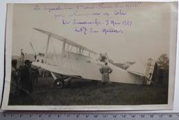 "Nungesser Et Coli - Départ Du 1er Raid ""Paris-Newyork"" - 9 Mai 1927 - Photo Intran-Match - Aviation"