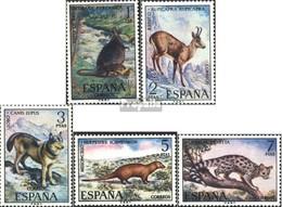 Espagne 1997-2001 (complète.Edition.) Neuf Avec Gomme Originale 1972 Animaux - 1931-Oggi: 2. Rep. - ... Juan Carlos I