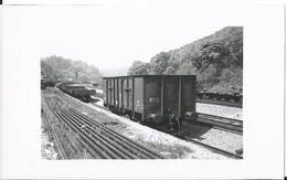 Photo -Train - Wagon - Gare De  Arzviller à Identifier  -Moselle - 57 - Trains