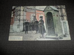 Berchem  ( Anvers  Antwerpen ) Caserne  Kazerne  Soldats  Soldat  Soldaat  Soldaten  - Gekleurd - Antwerpen