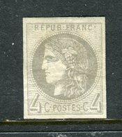 Superbe N° 41B Neuf * Signé Brun - 1870 Emission De Bordeaux