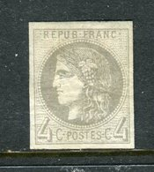 Superbe N° 41B Neuf * Signé Brun - 1870 Bordeaux Printing