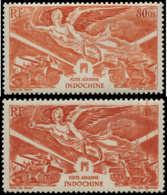 INDOCHINE Poste Aérienne ** - Maury 42A, Non émis, Faciale Modifiée: Anniversaire De La Victoire - Cote: 1925 - Indochina (1889-1945)