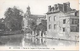 LISIEUX - ( 14 ) - Vue Sur La Touques - Lisieux