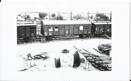Photo -Train -Locomtive - Gare D' Hagondange En 1956 57 - Moselle - Trains