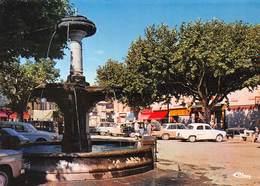 LARAGNE-MONTEGLIN - Place De La Fontaine - Automobiles - Andere Gemeenten