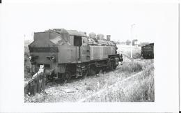 Photo -Train -Locomtive 141TB482 - Gare De Nancy Heillecourt  En 1956 - Trains