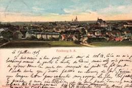 CPA - FREIBERG.i.Sachsen - Vue De La Ville (carte En Relief) - Freiberg (Sachsen)