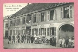 68 - GRUSS Aus URBIS - URBES - Restauration Zur Krone - Anton FINK - Voiture - Non Classés
