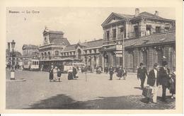 Namur - La Gare (belle Animation, Tram Tramway Bus, Edition Belge) - Namur