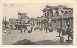 Namur - La Gare (belle Animation, Tram Tramway Bus, Edition Belge) - Namen
