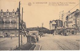 Wenduine Wenduyne - Station Du Tram Et De L'Autobus - Tram En Autobus Statie (animation, Edit. Vandekerkhove) - Wenduine