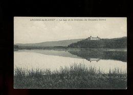 CPA- 38 - ARCISSE-DE-St CHEF - LE LAC ET LE CHATEAU DE CHAPEAU CORNU - - Autres Communes