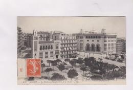 CPA ALGER, LE BD LAFERRIERE ET LA POSTE En 1914! - Algerien