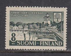Finland 1946 - 400 Jahre Stadt Tammissari, Mi-Nr. 333, MNH** - Ungebraucht