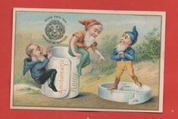 Amidon Rémy, Jolie Chromo, Nains, Gnomes, Faux-col - Kaufmanns- Und Zigarettenbilder