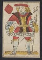 Carte à Jouer Ancienne - Le Valet De Carreau - Autres Collections