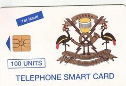 Uganda - Telecom Logo 100 Un. - First Issue -  UGA-07 - Uganda