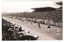 Circuit Des 24 H Du Mans ( 72 ) : Départ Du Cinquantenaire 22-23 Juin 1957 - Cachet ACO - Le Mans