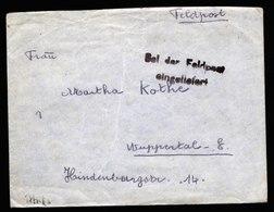 A6142) DR Feldpostbrief Tunis Afrika 28.03.43 FP 01921 N. Wuppertal Mit Inhalt - Briefe U. Dokumente