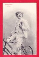 Illust-1677Ph54  BERGERET, Nos Cyclistes, L'épateur, Cpa Précurseur BE - Bergeret