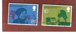 GRAN BRETAGNA (UNITED KINGDOM) -  SG 997.998  -  1976  TELEPHONE CENTENARY   - USED° - 1952-.... (Elisabetta II)
