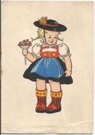 W2532 Bambini - Enfants - Children - Kinder - Nino - Illustrazione Illustration / Non Viaggiata - Scene & Paesaggi
