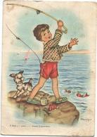 W2533 Bambini - Enfants - Children - Kinder - Nino - Illustrazione Illustration / Viaggiata 1952 - Scene & Paesaggi