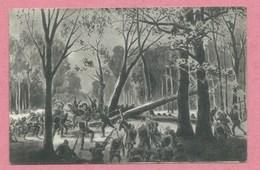 Vogesen - 68 - MARKIRCH - STE MARIE Aux MINES - Carte Dessinée - Gefecht Auf Der Kleine Höhe - Guerre 14/18 - Sainte-Marie-aux-Mines