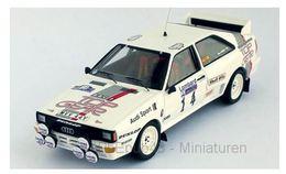 Audi Quattro - Top Gear - Malcolm Wilson/N. Harris -  RAC Rally 1984 #14 - Troféu - Trofeu