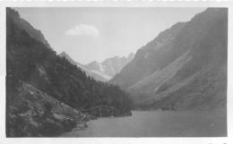MASSIF DE LA HOULETTE LAC DE GAUBE  1933 PHOTO ORIGINALE  11.50 X 7 CM - Orte