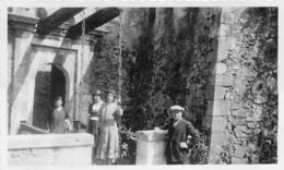 LOURDES CHATEAU FORT PONT LEVIS 1933  PHOTO ORIGINALE  11.50 X 7 CM - Orte