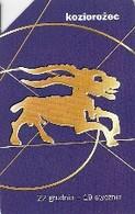 *POLONIA* -  Scheda Usata - Zodiaco