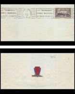 9456 Entete Cie Transatlantique N°299 Paquebot Normandie Voyage Inaugural 1935 Krag Havre New York France Lettre - Marcophilie (Lettres)