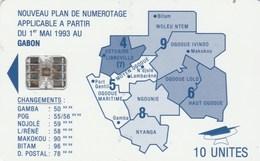 Gabon - Map Of Gabon - Blue - Gabon
