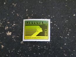 LITUANIE LIETUVA YT 414 ** - JEUX SPORTIFS MONDIAUX - Lituanie