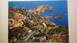Taormina Dall'aereo - Isola Bella - 1965 - Viaggiata - Autres Villes