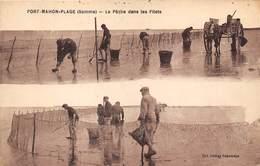 80-FORT-MAHON- LA PÊCHE DANS LES FILETS - Fort Mahon