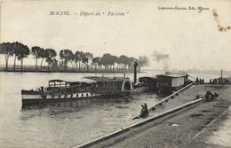"""Macon - Départ Du """"parisien"""" - Macon"""